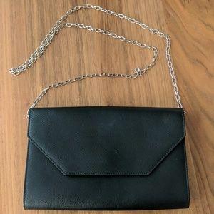 Halogen envelope purse with chain